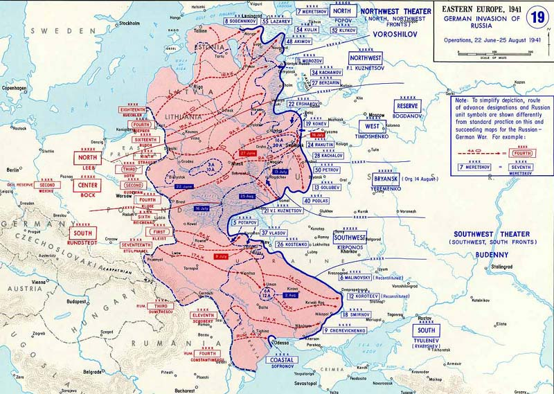 an analysis of operation barbarossa in the greatest military in russia Fall barbarossa or operation barbarossa was the codename given to germany's invasion of the soviet union on june 22 nd named after the crusading german king frederick i of the holy roman empire, this was the single greatest land invasion in history with regard to the amount of personnel and war material involved.