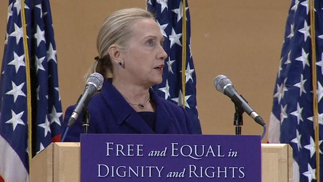 clinton and gay rights