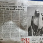 "9/11 Mastermind Osama bin Laden: America's Anti-Soviet ""Peace Warrior"" and CIA ""Intelligence Asset"""