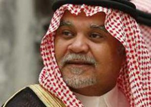 Director General of Saudi Intelligence Agency Prince Bandar bin Sultan