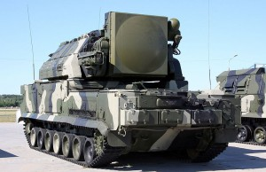 "Russian-made Tor missile system (NATO reporting name SA-15 ""Gauntlet"")"