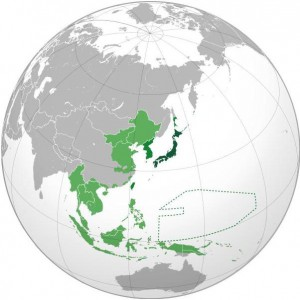 Greater East Asia Co-Prosperity Sphere in 1942