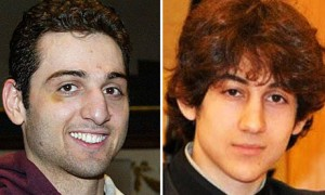 "Tamerlan and Dzhohar Tsarnaev, the Boston ""bombers""."