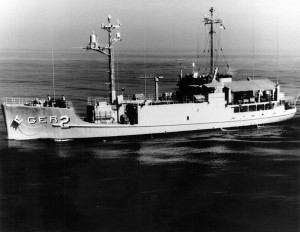 USS Pueblo (AGER-2) was captured by North Korean forces in 1968