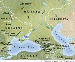 chechnyarussiamap