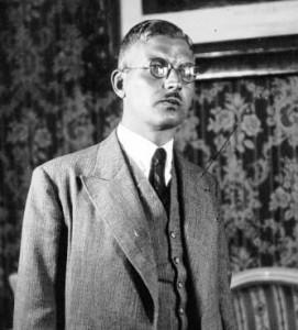 Austrian Chancellor Kurt Schuschnigg in 1934.