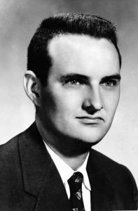 NSA defector Bernon F. Mitchell (1929-2001) in 1960.