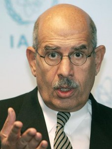 Former IAEA DG and old US/UK stooge Mohamed Elbaradei