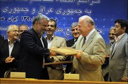 The agreement was signed in 2011 by the oil ministers of Iran, Iraq and Syria.