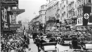 German troops entering Vienna, March 1938