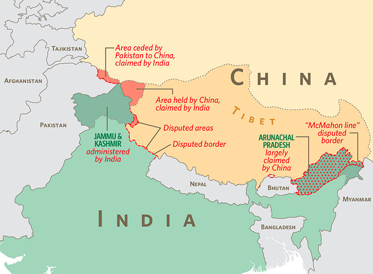 an overview of the modern relations between china and india The economic gap between china and india in india, although the relations between research and development capability and modern enterprise.