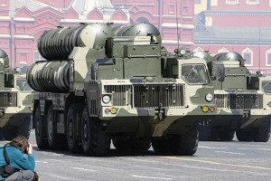 Will America's attack in Syria really be just a test shoot to see how good the Russian missiles are? On the photo: S-300 Russian air defense mobile units.