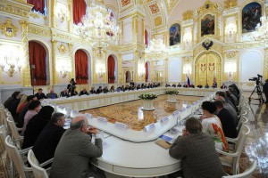 Meeting of the Council for Civil Society and Human Rights, Moscow, Kremlin, Sept. 4, 2013