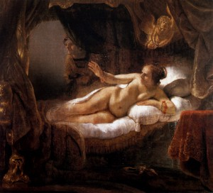 One of the most prominent Rembrandt's paintings Danaë resides in the Hermitage Museum, St. Petersburg, Russia.