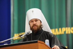 Metropolitan Hilarion of Volokolamsk, Chairman of the Department for External Church Relations of the Moscow Patriarchate.
