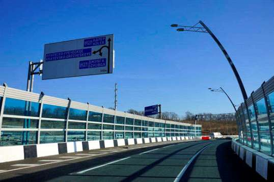 A number of new highways were built ahead of Olympics to facilitate traffic in Sochi.