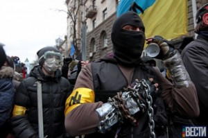 Neonazis in Kyiv are ready for the battle.