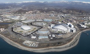 Formula One Circuit around Sochi Olympic Park