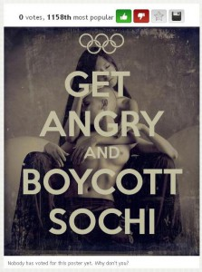 The vulgar anti-Sochi propaganda campaign is hardly reaching the international audience.