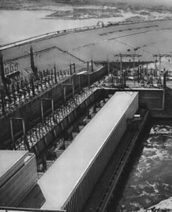 The Aswan Dam (Egypt) was built in 1960s with the Soviet technical assistance.