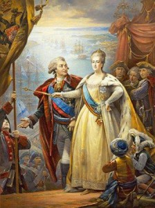 Russian Empress Catherine the Great.