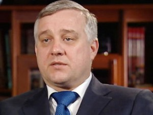 Former chief of the Security Service of Ukraine Alexander Yakimenko.