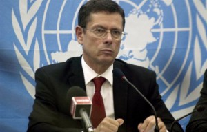 Ivan Šimonović, Croatian diplomat, UN Assistant Secretary-General for Human Rights since 2010.