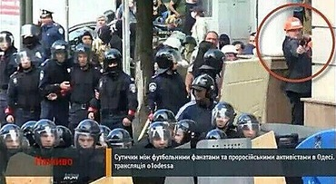 Odessa police pays no attention to man shooting at the football fans.