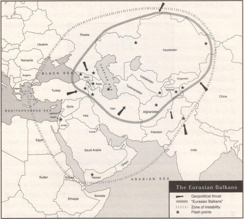 Los Balcanes Euroasiáticos