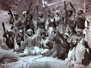 US-sponsored mujahedin in 1984 (Afghanistan).