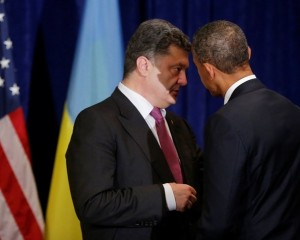 Petro Poroshenko serving as the US insider even in the presidential position.