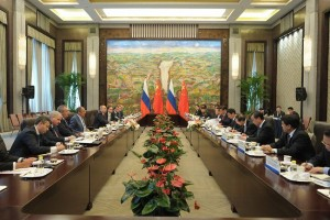Russia-China talks in Beijing, May 2014.
