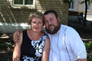 Fr. Vladimir Maretsky with his wife Irina