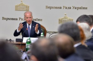 Vice-president Joe Biden is de-facto the US governor-general in Ukraine.