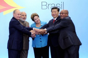 The Sixth BRICS summit on Fortaleza, Brazil, 14-16 July 2014