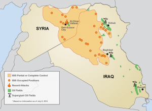 ISIS oil fields