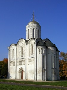 "St. Demetrius Cathedral in Vladimir, Russia was build in 12th century. How the architects of ""global village"" dare to lecture a nation that created this masterpiece 900 years ago?"