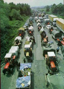 Serbian civilians' exodus from Croatia, August 1995