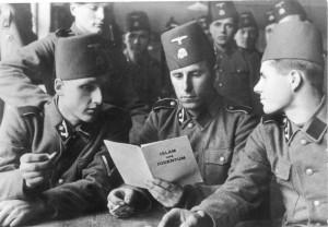 Members on Bosnian Nazi Division
