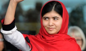 The photogenic seventeen-year old Pakistani, Malala Yousafzai, is both the prop of an agenda, and the cause of a program.