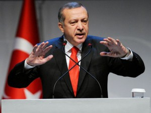 "Turkey's President Erdogan, on 4 October said: ""Foreign fighters have never entered Syria from our country. They may come to our country as tourists and cross into Syria, but no one can say that they cross in with their arms,"" adding that Turkey had prevented 6,000 jihadists from entering Turkey and had deported another thousand."