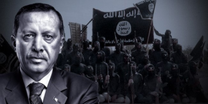 The Caliph counts on indirect help from The Sultan (or alternate Caliph), aka Turkish President Tayyip Erdogan.