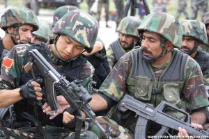 « Joint Peace Angel 2014 » China-Pakistan exercise was held in April 2014 over two weeks near Rawalpindi, in the north of Pakistan.