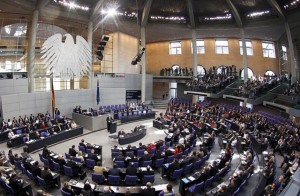 The Bundestag, Germany's parliament, is still addicted to a strong Atlanticist agenda and a preemptive obedience to Washington.