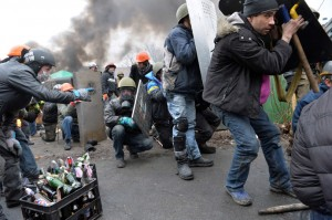 We are witness to terrorized Ukrainians massacring one another in their thousands.