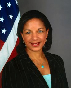 National Security Adviser Susan Rice has never shown the slightest indication that she even begins to understand any of issues of the international relations.