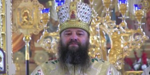 Episcope Longhin, the bishop of the Vikary Chernovitskaya diocese.