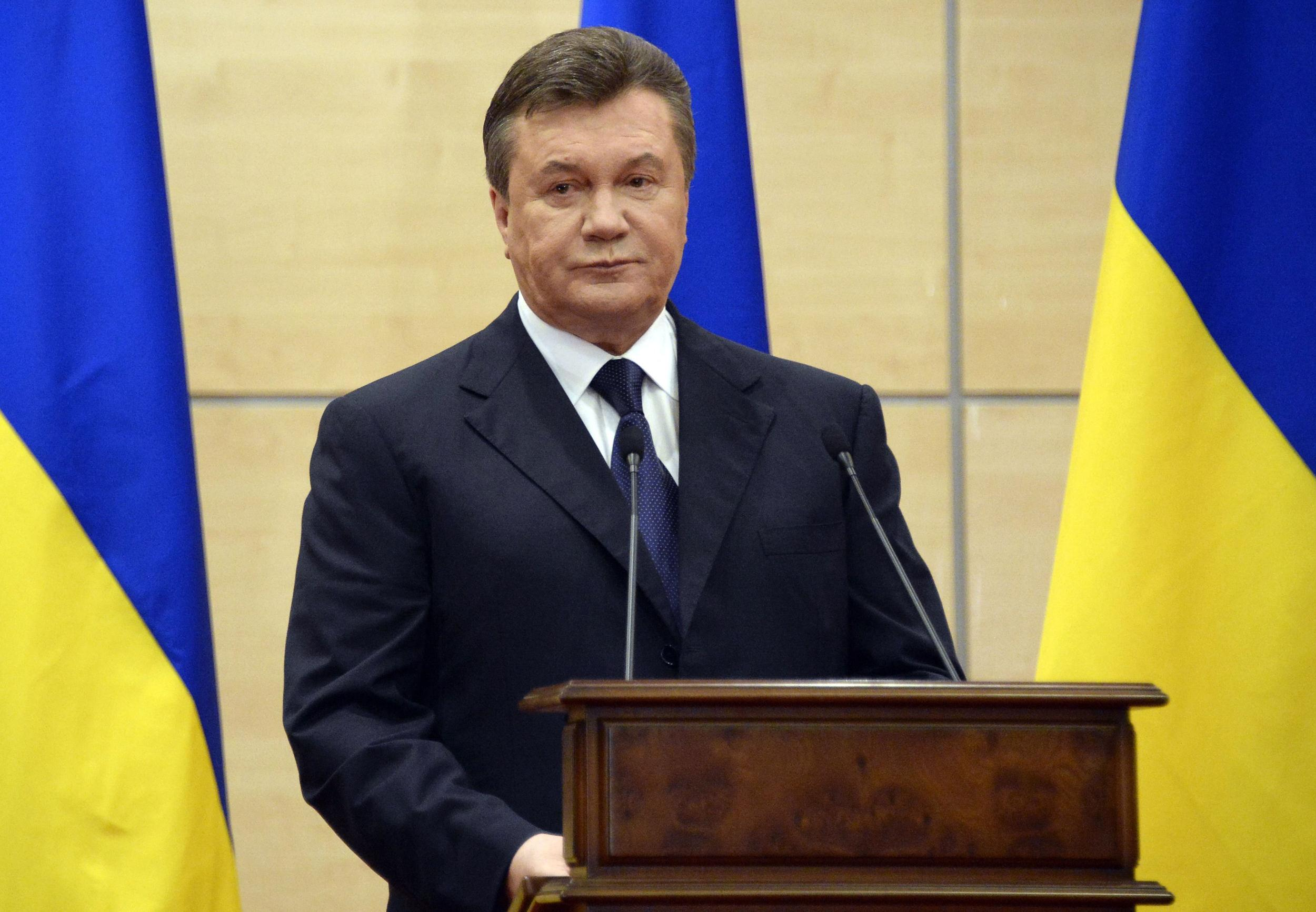 yanukovych and putin relationship