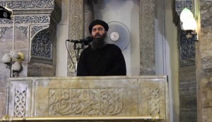Abu Bakr al-Baghdadi is a mad man, a psychotic and insane person, the monster that USA inadvertently allowed to be created.