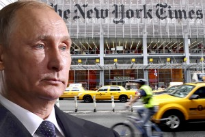 In the first months of 2009 New York Times correspondents continued to look for signs of a revolt against Putin.